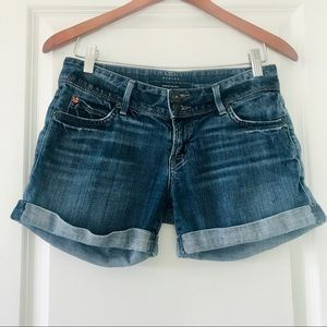 Hudson Jeans cuffed shorts with back flap pockets